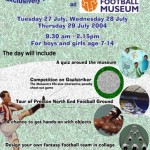 Football Museum Poster